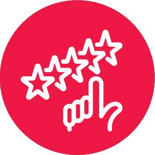 pessoas sempre buscam avaliação de produtos feita por outros consumidores (recomendação ou rating) e 58% sempre olham as reclamações postadas.